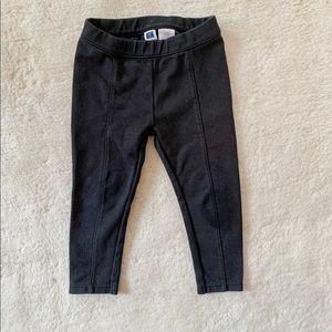 Janie and Jack black ponte pants